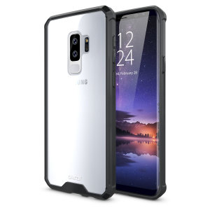 Custom moulded for the Samsung Galaxy S9 Plus. This black Olixar ExoShield tough case provides a slim fitting stylish design and reinforced corner shock protection against damage, keeping your device looking great at all times.