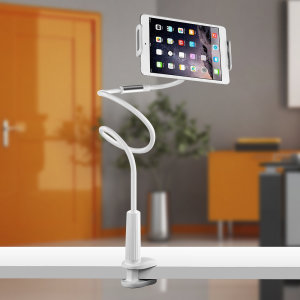 Consisting of a 1m extra long holder and clip-on mounting clamp, the Olixar LongArm can be attached to any surface with a thickness up to 80mm - including desks, beds, tables, kitchen worktops and more. Get the ideal view of your device no matter what.
