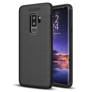 Flexible, rugged casing with a premium textured non-slip leather-effect and smooth matte finish, allied to beautiful engineered lines and executive looks, make the Olixar Attache a case for the discerning S9 Plus user. Sleek, light and very robust.