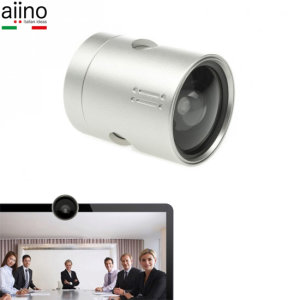 Optimise your MacBook for video calls, conferences and boardroom meetings with the Aiino Sawhet Wide-Angle HD Conference Lens. Share a crisp, HD image that cuts nothing out and gives the recipient the full picture with this premium accessory.