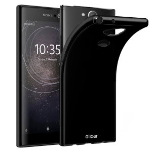Custom moulded for the Sony Xperia XA2. This black Olixar FlexiShield case provides a slim fitting stylish design and durable protection against damage, keeping your device looking great at all times.