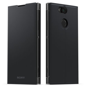 This high quality official bi-fold folio case from Sony houses your Xperia XA2 smartphone, providing protection and access to your ports and features while incorporating a built-in viewing stand - in black.