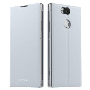 This high quality official bi-fold folio case from Sony houses your Xperia XA2 smartphone, providing protection and access to your ports and features while incorporating a built-in viewing stand - in silver.