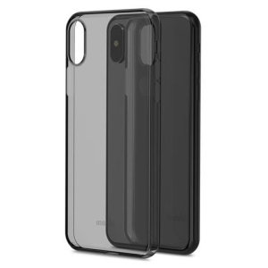 Protect your iPhone X with this stylish Moshi SuperSkin Ultra-thin case in Stealth Black. The SuperSkin provides exceptional protection and accentuates your iPhone X's elegance through the use of premium materials.