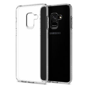 Durable and lightweight, the Spigen Liquid Crystal series for the Samsung Galaxy A8 2018 offers premium protection in a slim, stylish package. Carefully designed the Liquid Crystal case is form-fitted for a perfect fit.