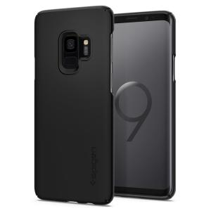 Durable and non-slip material coated, the Spigen Thin Fit series case for the Samsung Galaxy S9 offers premium protection for your shiny new handset, all in a slim fitting, lightweight and stylish design.