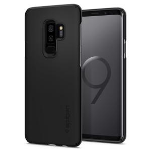 Durable and non-slip material coated, the Spigen Thin Fit series case for the Samsung Galaxy S9 Plus offers premium protection for your shiny new handset, all in a slim fitting, lightweight and stylish design.
