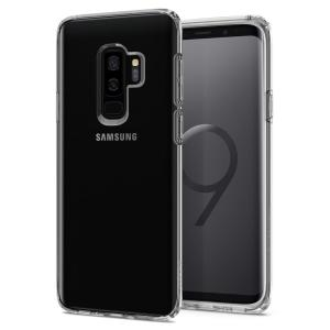 Durable and lightweight, the Spigen Liquid Crystal series for the Samsung Galaxy S9 Plus offers premium protection in a slim, stylish package. Carefully designed and precisely engineered, the Liquid Crystal clear case is form-fitted for a perfect fit.