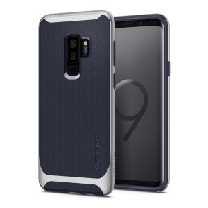 The Spigen Neo Hybrid in silver arctic colour is the new leader in lightweight protective cases. Spigen's new Air Cushion Technology reduces the thickness of the case while providing optimal corner protection for your Samsung Galaxy S9 Plus.