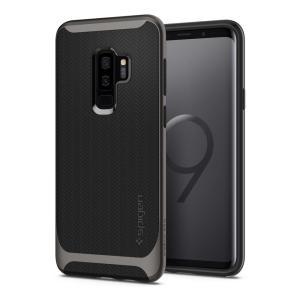The Spigen Neo Hybrid in gunmetal colour is the new leader in lightweight protective cases. Spigen's new Air Cushion Technology reduces the thickness of the case while providing optimal corner protection for your Samsung Galaxy S9 Plus.