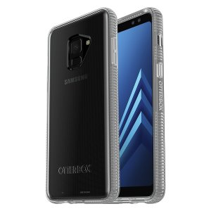 Keep your Samsung Galaxy A8 2018 robustly protected with this OtterBox Prefix case featuring a one piece installation and ribbed protective structure.