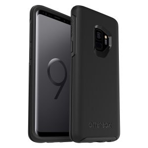 The dual-material construction makes the Symmetry black case for the Samsung Galaxy S9 one of the slimmest, yet most protective case in its class. The Symmetry series has the style you want with the protection your brand new phone needs.