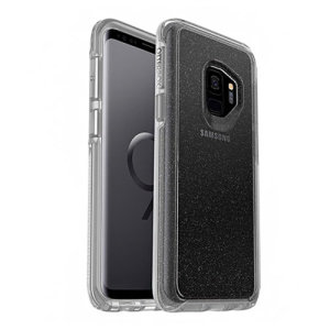 The dual-material construction makes the Symmetry Clear Stardust case for the Samsung Galaxy S9 one of the slimmest, yet most protective case in its class. The Symmetry series has the style you want with the protection your brand new phone needs.