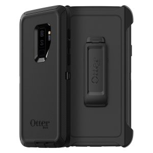 Protect your Samsung Galaxy S9 Plus with the toughest and most protective case on the market - the OtterBox Defender Series Screenless Edition in black.