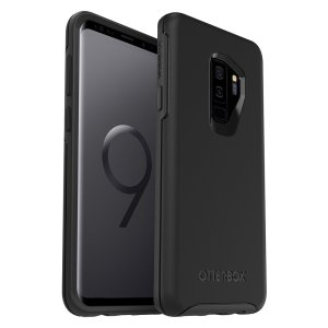 The dual-material construction makes the Symmetry black case for the Samsung Galaxy S9 Plus one of the slimmest, yet most protective case in its class. The Symmetry series has the style you want with the protection your brand new phone needs.
