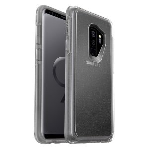 The dual-material construction makes the Symmetry Clear Stardust case for the Samsung Galaxy S9 Plus one of the slimmest, yet most protective case in its class. The Symmetry series has the style you want with the protection your brand new phone needs.