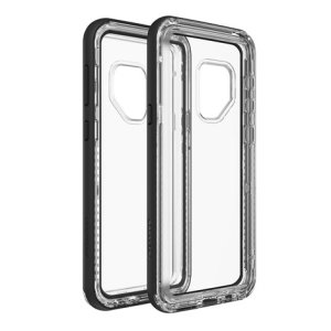 Protect your Galaxy S9 and gear up for adventures with this all new Lifeproof NEXT tough case in Black Crystal color set. Experience the best of both worlds - a sleek and refined protection, and an unobstructed access to all of the phone's features.