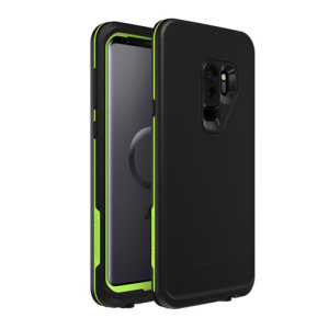 Make your phone waterproof and experience the freedom to surf, sing in the shower, ski, snowboard, work on construction sites and anywhere else you go with the LifeProof Fre Samsung Galaxy S9 Plus case in Night Lite colour set.