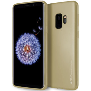 A premium gel case for your shiny new Samsung Galaxy S9. The Mercury Goospery iJelly features a robust high quality TPU gel material in superb-looking gold colour, that will take all the knocks and look fabulous while doing so.