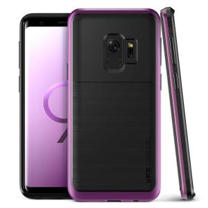 Protect your Samsung Galaxy S9 with this precisely designed High Pro Shield series case in ultra violet from VRS Design. Made with tough dual-layered yet slim material, this hardshell body with a sleek bumper features an attractive two-tone finish.