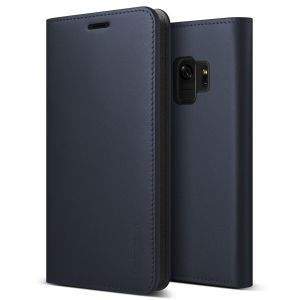 Protect your Samsung Galaxy S9 with this precisely designed flip case in navy from VRS Design. Made with genuine premium leather, the VRS Design Diary oozes style and attractiveness.
