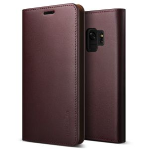 Protect your Samsung Galaxy S9 with this precisely designed flip case in wine from VRS Design. Made with genuine premium leather, the VRS Design Diary oozes style and attractiveness.