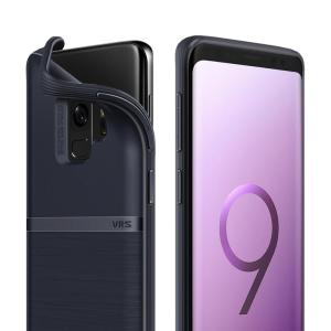 Protect your Samsung Galaxy S9 with this precisely designed and durable case from VRS Design. Made with sturdy, yet flexible premium material, this indigo polycarbonate hardshell features a slim design with precise cut-outs for your phone's ports.