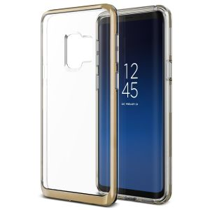 Protect your Samsung Galaxy S9 with this precisely designed crystal gold case from VRS Design. Made with a sturdy yet minimalist design, this see-through case offers protection for your phone while still revealing the beauty within.