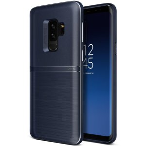 Protect your Samsung Galaxy S9 Plus with this precisely designed and durable case from VRS Design. Made with sturdy, yet flexible premium material, this indigo polycarbonate hardshell features a slim design with precise cut-outs for your phone's ports.