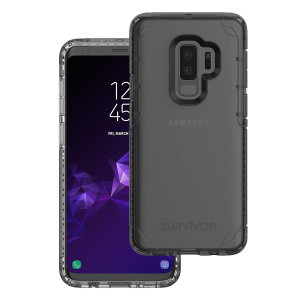 Introducing the Survivor Strong case in clear from Griffin. Providing superior coverage, this rugged case is perfect for protecting your Samsung Galaxy S9 Plus in almost any condition.