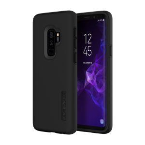 The Incipio DualPro in black wraps your Samsung Galaxy S9 Plus in multi-layered & military-grade protection, all topped with a premium finish. Features a strong and durable Plextronium frame, which offers effective protection against bumps and drops.