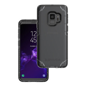 Introducing the Survivor Strong case in black tint from Griffin. Providing superior coverage, this rugged case is perfect for protecting your Samsung Galaxy S9 in almost any condition.