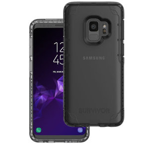 Introducing the Survivor Strong case in clear from Griffin. Providing superior coverage, this rugged case is perfect for protecting your Samsung Galaxy S9 in almost any condition.