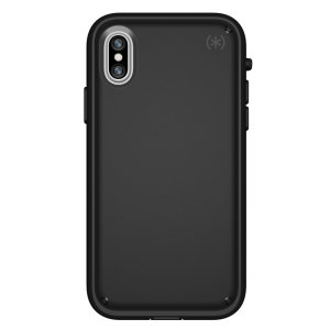 Meet the Speck Presidio Ultra - the top of the range Speck tough case. An ultra-rugged black case made from four different protective layers for the iPhone X features protection against drops of up to 15 feet. Comes with a removable  Ultra Bumper.