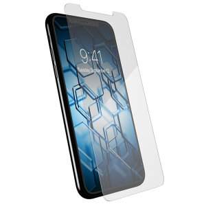 Speck Shieldview Glass Pro Tempered Glass features excellent protection for your iPhone X, shielding its screen against scratches, smudges and other damage. A multi-layer design with an oil-resistant coating will keep your phone's screen looking like new.