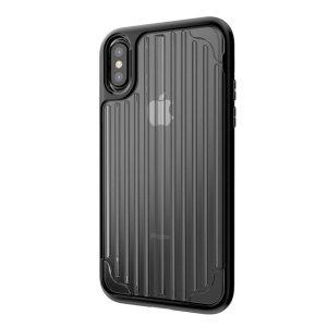 Kajsa Trans-Shield Collection iPhone X Case - Clear / Black