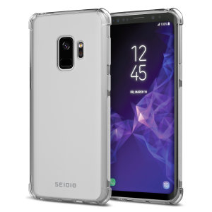 The Seidio Optik is an excellent way to show off the design of your Samsung Galaxy S9, while still adding durable, long-lasting protection. Reinforced shock-resistant corners protect against drop damage while adding virtually no extra bulk.