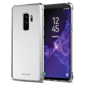 The Seidio Optik is an excellent way to show off the design of your Samsung Galaxy S9 Plus, while still adding durable, long-lasting protection. Reinforced shock-resistant corners protect against drop damage while adding virtually no extra bulk.