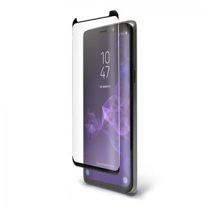 Keep your Samsung Galaxy S9 safe and secure with this curved,  tempered glass Pure Arc screen protector from BodyGuardz. Features edge-to-edge protection with full touch sensitivity, allowing you to make the most out of your brand new shiny handset.