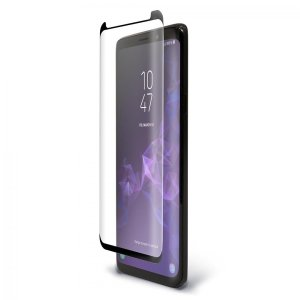 Keep your Samsung Galaxy S9 Plus safe and secure with this curved, tempered glass Pure Arc screen protector from BodyGuardz. Features edge-to-edge protection with full touch sensitivity, allowing you to make the most out of your brand new shiny handset.