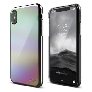 The Slim Fit 2 Case for iPhone X in rainbow from Elago, provides substantial protection for your device, all in a slim, lightweight and truly eye-catching design. Features an open button ergonomic build without any extra bulk.