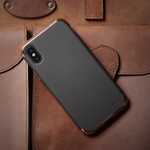 The Empire Case for iPhone X in rose gold & black from Elago, provides substantial protection for your device, all in a streamlined, solid and eye-catching design. This case will surely take the looks of your iPhone X to the next level.