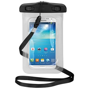 The Goobay Universal Beach Bag For Smartphones is a protective case providing 100% smartphone waterproofing and touchscreen operation up to a size of 5.5 inches. Don't let the water stop you from enjoying outdoor activities with your smartphone.