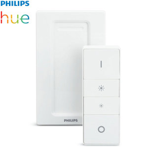 Control your Philips Hue lights with ease with this official wireless dimmer switch. Control which lighting scene is used, adjust the brightness and even detach the remote from the magnetic holder for ease of use.