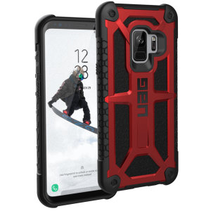 The Urban Armour Gear Monarch in crimson red for the Samsung Galaxy S9 is quite possibly the king of protective cases. With 5 layers of premium protection and the finest materials, your Galaxy S9 is safe, secure and in some style too.