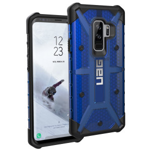 The Urban Armour Gear Plasma for the Samsung Galaxy S9 Plus features a protective TPU case in cobalt with a brushed metal UAG logo insert for an amazing design and excellent protection from scrapes, bumps and scratches.