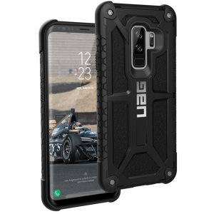 The Urban Armour Gear Monarch in black for the Samsung Galaxy S9 Plus is quite possibly the king of protective cases. With 5 layers of premium protection and the finest materials, your Galaxy S9 Plus is safe, secure and in some style too.