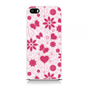 Specifically made for the iPhone 5 / 5S / SE, this pink flower print protective hard shell case from Call Candy will shield your iPhone from everyday knocks and drops, while adding a splash of style and colour.