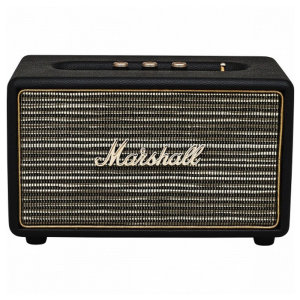 With this compact, powerful Bluetooth speaker, you can enjoy your favourite songs enhanced by the classic signature sound of Marshall amplifiers. The Marshall Acton in black may be small in size, yet big in power and sound.
