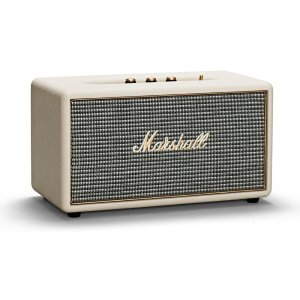 The Marshall Stanmore Bluetooth Speaker in cream may be small in size but it's sound is nothing short of large. With wireless bluetooth connectivity and a classic design - Stanmore is the ultimate stylish speaker